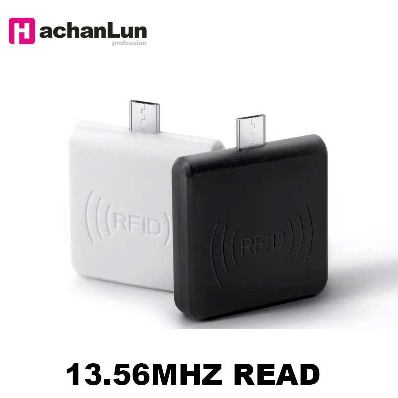 Free Shipping Home Mini RFID 13.56MHZ NFC Smart CardReader Support WIndows / Android Phone OTG Reader