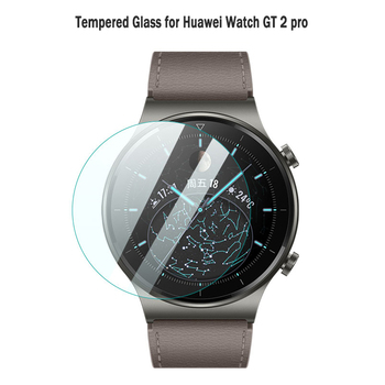 2Pcs 9H Anti-scratch Tempered Glass for Huawei Watch GT 2 pro 46mm Screen Protector Protective Glass For Watch GT 2 pro Film 2 pcs screen protector for huawei watch gt 2 pro soft film full cover 9h clear anti scratch screen guard protective shatterproof