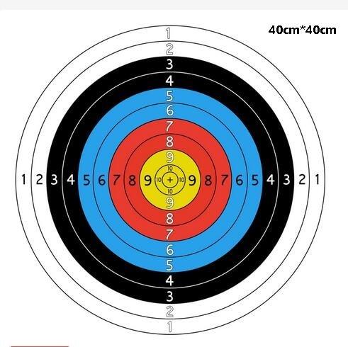 3pcs Archery Target Paper Face For Arrow Bow Shooting40*40cm