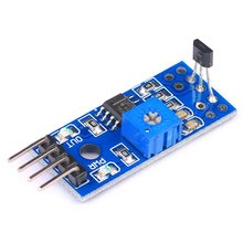 цена на New Hall Sensor Module Hall Speed Counting Detection Sensor Module Switch Speed Module Smart Regulation Design