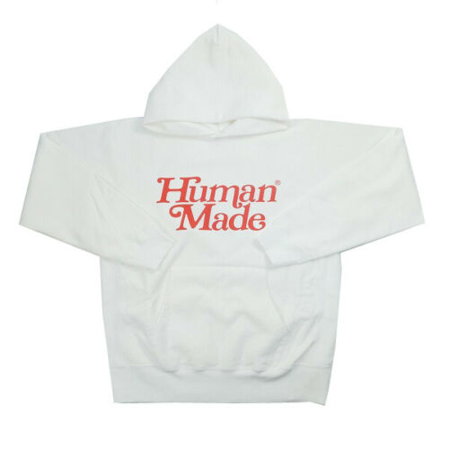 Girls Dont Cry Human Made Pizza Hoodie White  Unisex Size S-3Xl