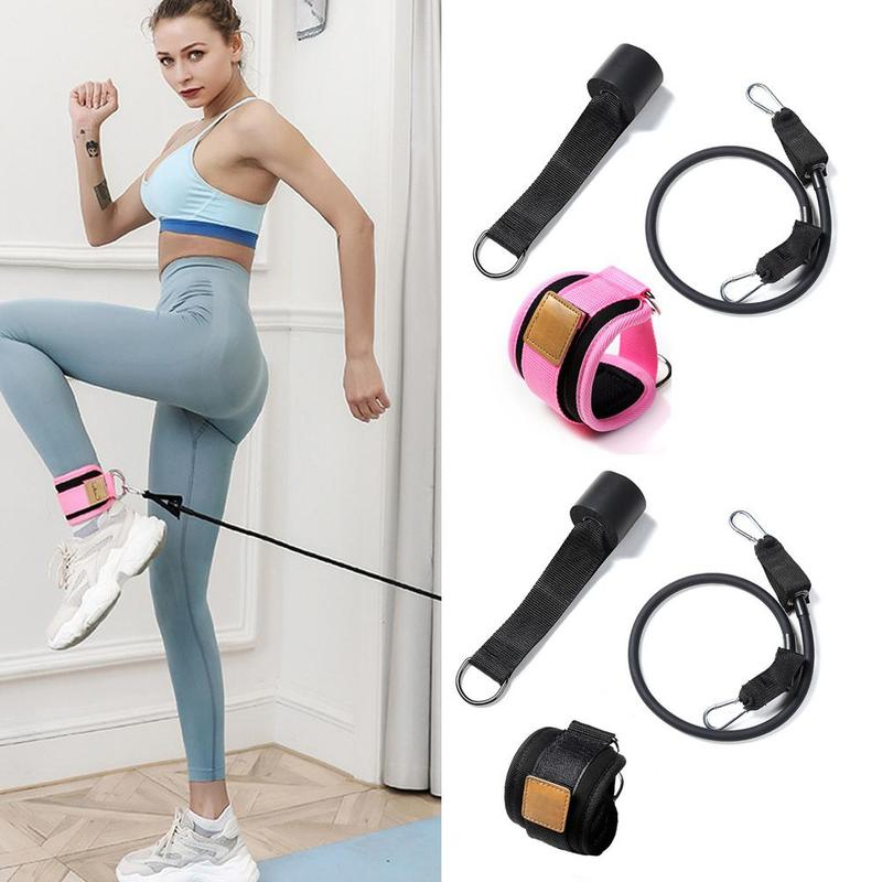 Practice Leg Practice Buttock Fitness Resistance Band Ankle Ring Buckle Door On Pull Rope Accessories Portal Frame Leggings Buck
