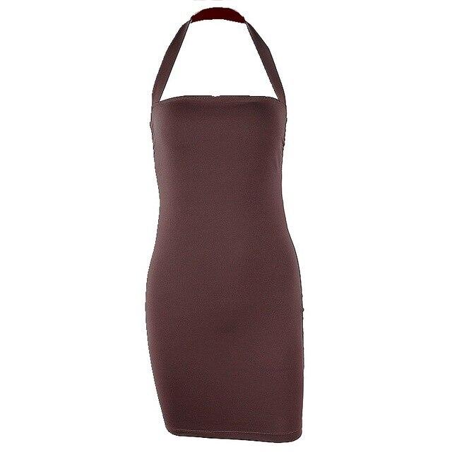 Yimunancy Bodycon Dress Women Halter Sexy Dress 2020 Ladies Summer Dress 6