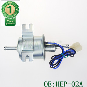 Image 5 - 12V Electric Fuel Pump Low Pressure Bolt Fixing Wire Diesel Petrol HEP 02A HEP02A fuel pump for carburetor, motorcycle , ATV