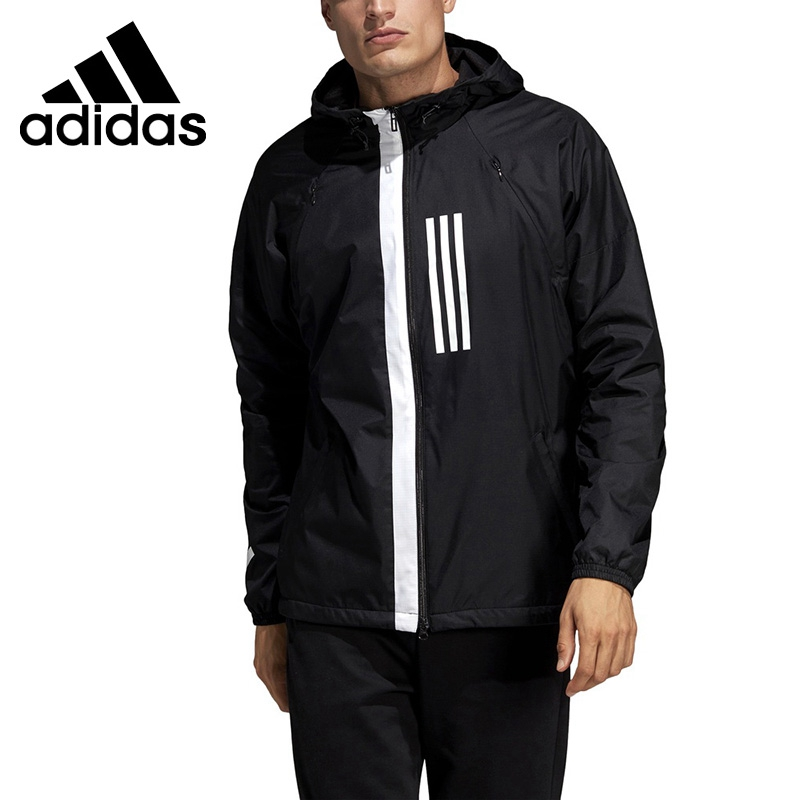 Original New Arrival <font><b>Adidas</b></font> M WND JKT FL <font><b>Men's</b></font> jacket Hooded Sportswear image