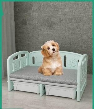 Милые кровати для собак, диван для домашних животных, кровать принцессы, кровать для собак, маленькая собака, большие собаки, домик на четыре