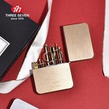 Машинка для стрижки ногтей THREE SEVEN/777, набор для кутикулы, 7 в 1, педикюр, Классические роскошные инструменты для маникюра