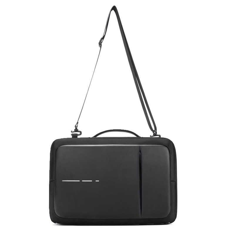 Anti Dief Usb Opladen Mannen Rugzakken Voor 15.6 Inch Laptop Mannen Zakelijke Mode Bericht Rugzak Reistassen Mannelijke Mochila