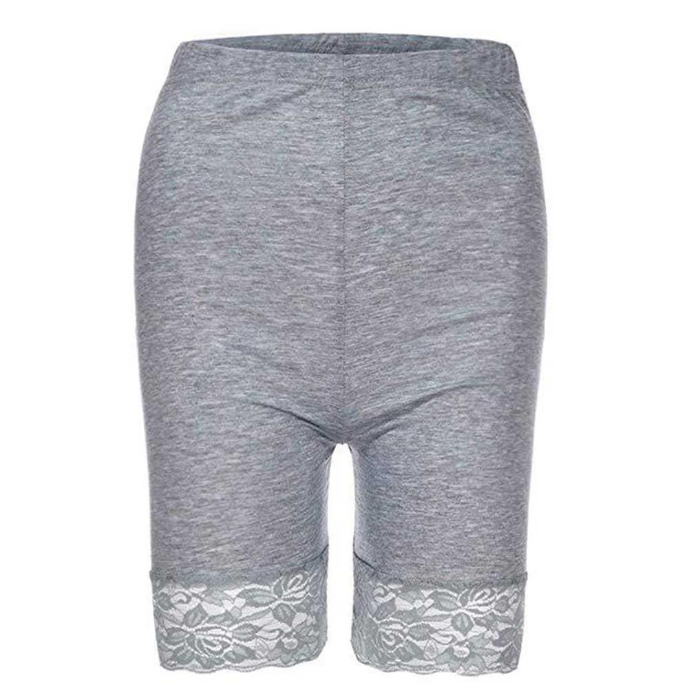 Seksi güvenlik kısa pantolon kadın elastik bel güvenlik şort iç çamaşırı kadın güvenlik külot kadın güvenlik pantolon şort külot
