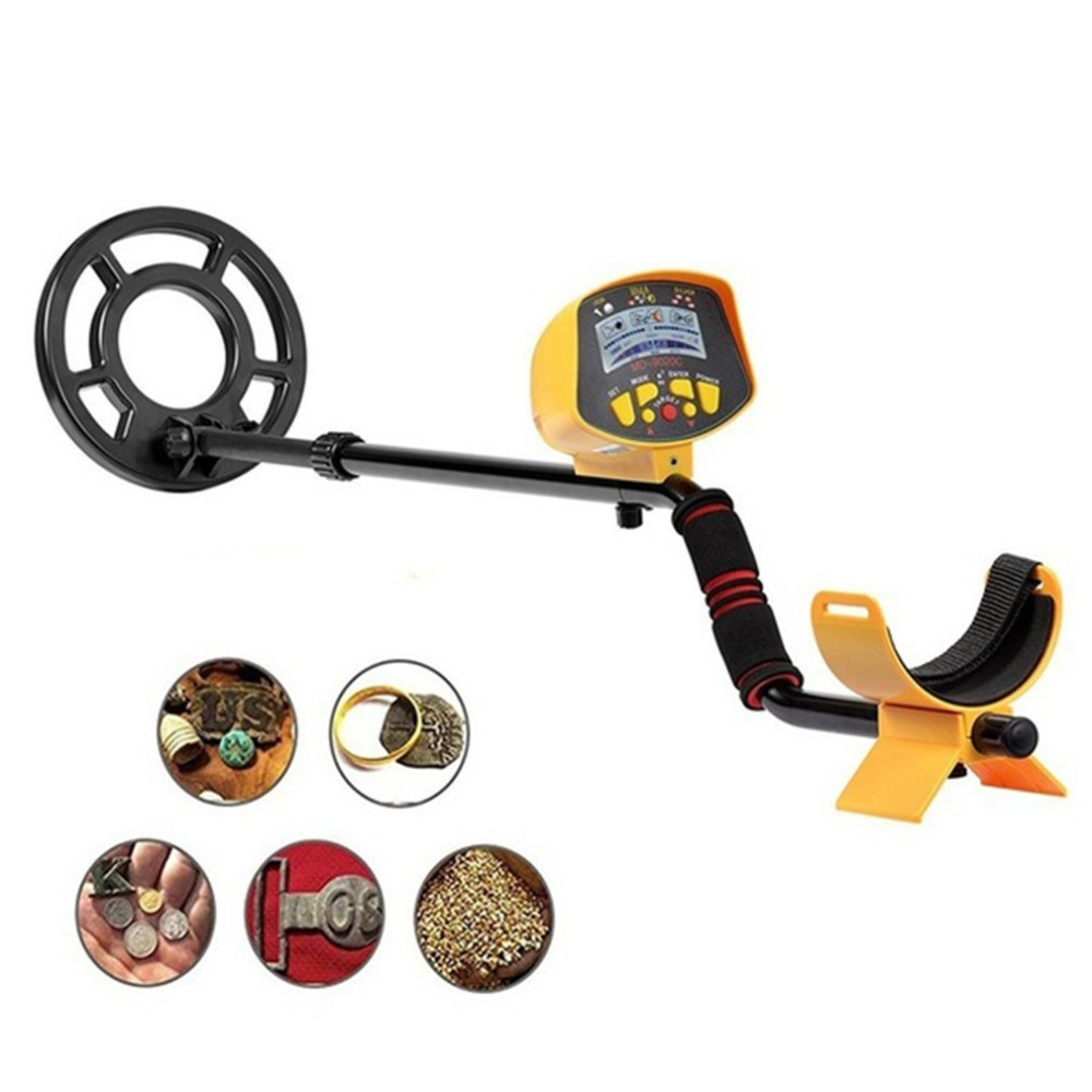 Professional Underground Metal Detector MD9020C Security High Sensitivity LCD Display Treasure Gold Hunter Finder Scanner|Industrial Metal Detectors| |  - title=