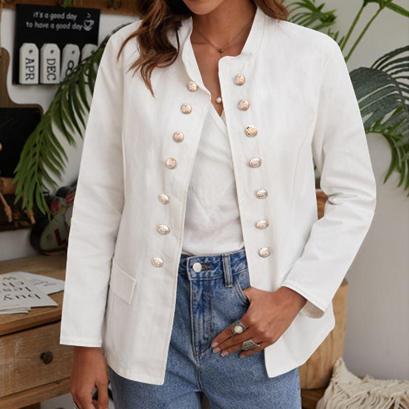 4XL 5XL Elegant Office Jackets Long Sleeve Casual Women Coats 2021 VONDA Female Coats Formal Jackets Outerwear Femininas