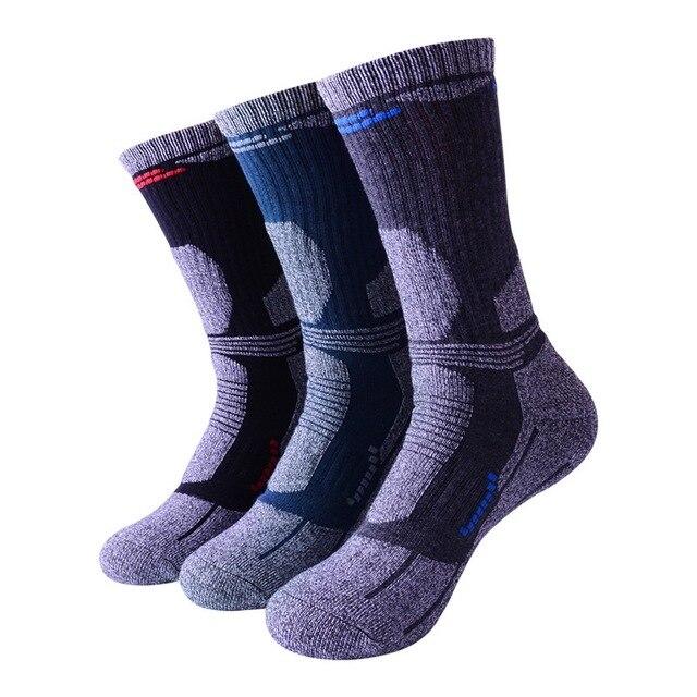 Мужские носки набор 2 пары зимние теплые носки горные для альпинистов 2