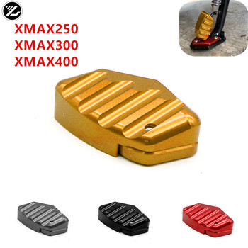 For YAMAHA X-MAX300 X-MAX 300 XMAX400 XMAX 250 Motorcycle Accessories Scooter CNC Anti-Slip Kickstand Enlarger Stand Cover - discount item  11% OFF Ornamental & Cleaning & Protection