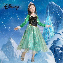 Disney Girl Princess Dress for Toddler 2019 New Summer  Fashion Girls Cosplay Party Fantasy Halloween Kids Vestidos