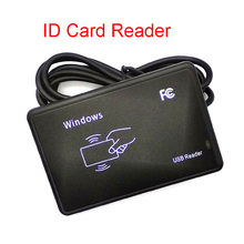 ID Card Reader RFID Reader EM4100 USB Sensor Smart Card Reader No Drive Issuing Device EM ID USB For Access Control 125Khz