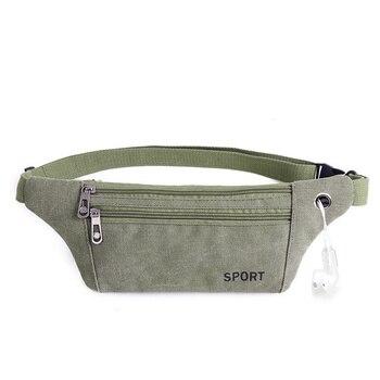 Vintage Waist Pack Men Round Belt Bag Caver Multiple Usage Fashion Hip Travel Money Hot Sale - discount item  30% OFF Women's Handbags