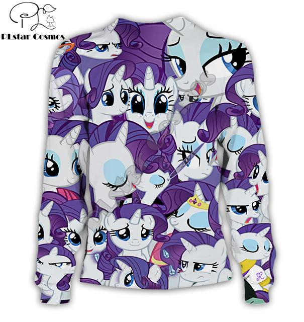 Anime Harajuku hoodies My Little Pony 3D All over Printed Men&Women Cosplay streetwear Sweatshirt/Hoodie sudadera hombre