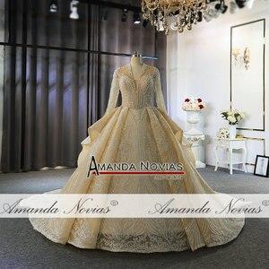 Image 4 - Роскошные свадебные платья с длинными рукавами