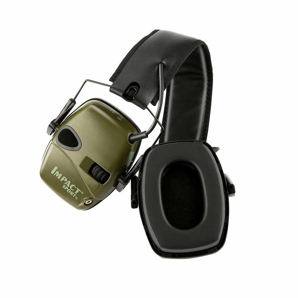 Электронные Наушники для стрельбы, усилитель звука, наушники с защитой от шума, охотничьи наушники, защита ушей, Защита слуха