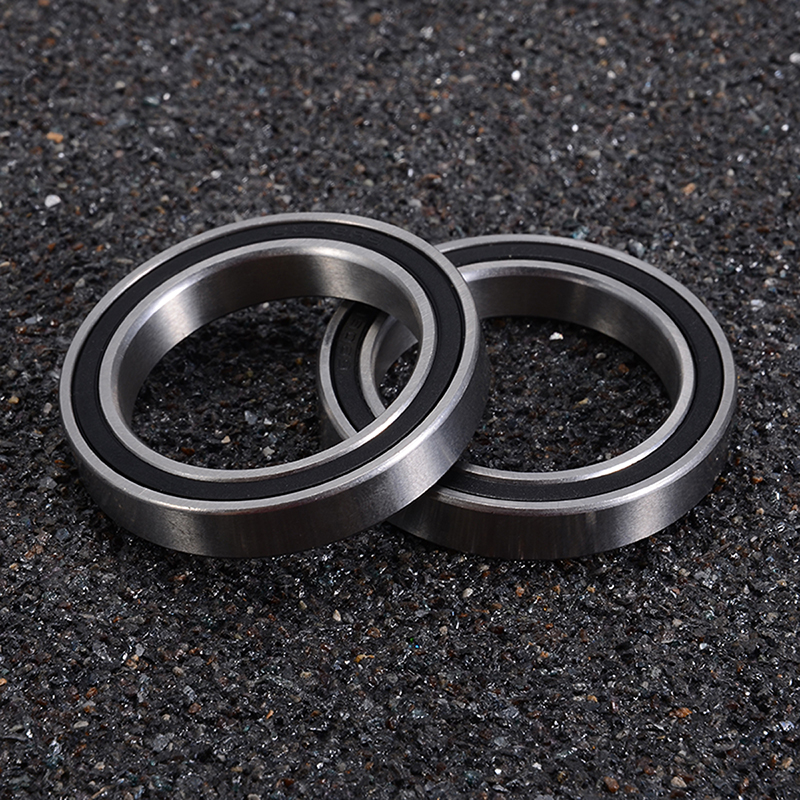 2Pcs 6806 Ceramics Bearing Bicycle Bottom Bracket Mountain Road Bike Fit For Sram Rotor BB30/PF30/BB 386/BB Right Bracket