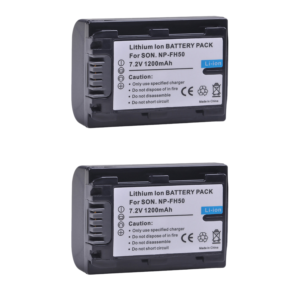 Batería 650mAh Para SONY NP-FH50 NPFH 50 FH-50
