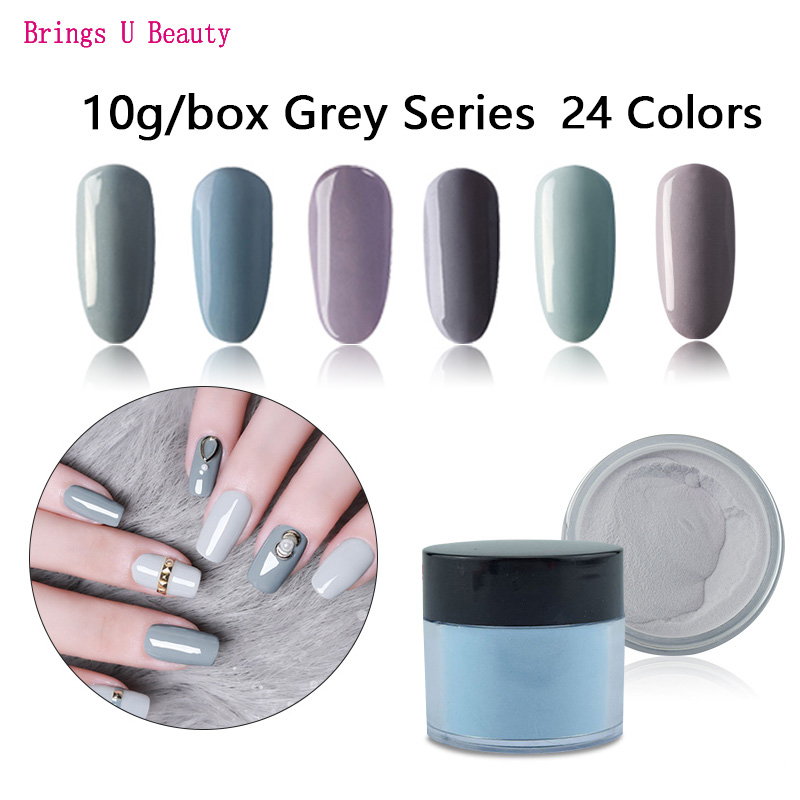 10g Box Very Fine Dipping Powder Specific Purity Cool Colors