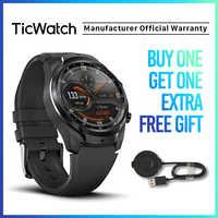 TicWatch Pro 4G/LTE Dual Screen Schlaf Tracking Schwimmen-Bereit IP68 Wasserdicht NFC 4G Service für UNS-Verizon oder DE-Vodafone handys