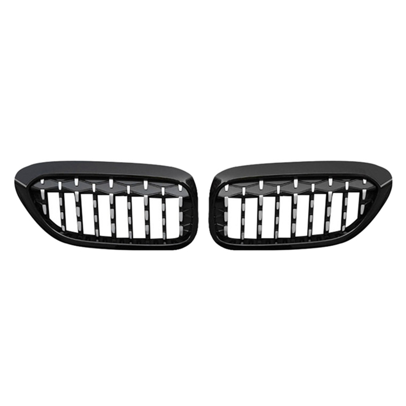 1 Pair Front Kidney Grille for Bmw New 5 Series G30 G38 2018-2019 Grille Meteor Style Front Bumper Grill Car Styling