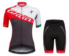 Wilier Women's Cycling Jersey Set Quick Dry Short sleeve bicycle Clothes MTB Bike Clothing Bicicletas Real Ropa Ciclismo