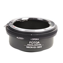 FOTGA Lens Adapter Ring for Nikon G AF-S to Mini 4/3 M4/3 Adapter for EP1 EP2 GF1 GF2 GH1 GH2 G1(China)