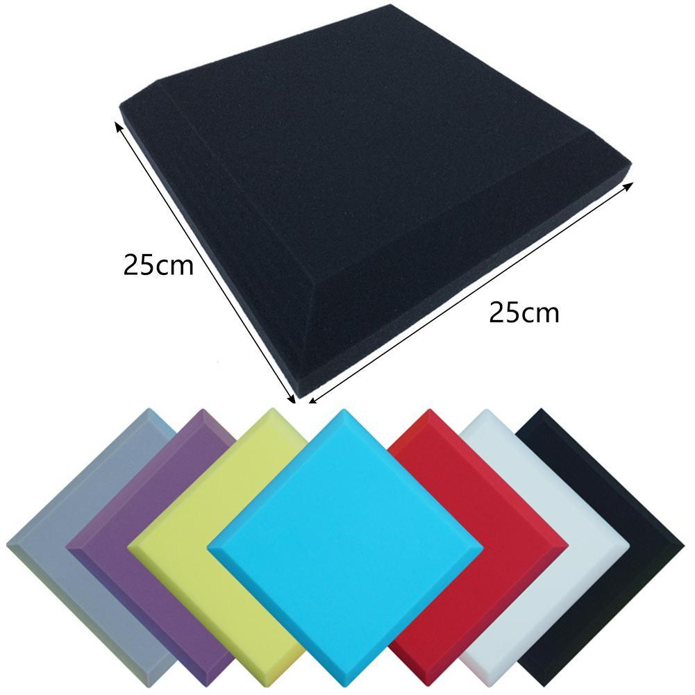25*25*5cm Sound Deadener Noise Insulation Acoustic Dampening Mat Subwoofer New Foam GYC7051 E5G1