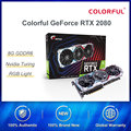Colorful GeForce RTX 2080 AD Graphic Card Special OC GPU GDDR6 8G iGame Video Card Nvidia One-key Overclock RGB Light