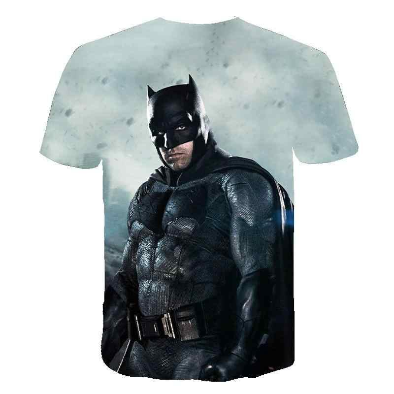 Superman T Camicette Gli Uomini di Compressione Camicette Batman Magliette e camicette Il Flash T-Camicette Fitness Crossfit Magliette Bodybuilding Maglietta Rashguard