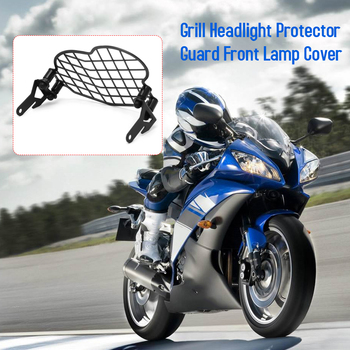 Hot New Fit for BMW G650GS 2011-2017 Motorcycle Grill Headlight Protector Guard Front Lamp Cover