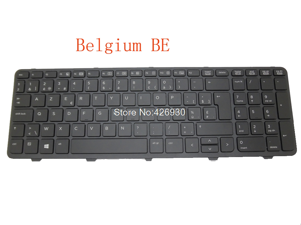 Laptop Keyboard For <font><b>HP</b></font> 450 G0 450 G1 455 G1 470 G0 721953-141 721953-A41 721953-BG1 721953-AB1 721953-DD1 721953-291 JP BE BR image