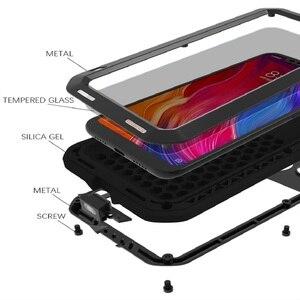 Image 4 - Love Mei For Xiaomi Mi 9 Case Shockproof Silicone  Metal Armor Protective Case For Xiaomi Mi8 M8 Mi9 Mi6 Cover Funda  Glass Film