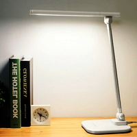 LED Table Light Eyes Protect Desk Lamp Dimmable Color Adjustable Touching Sensor Foldable Light for School Children Reading