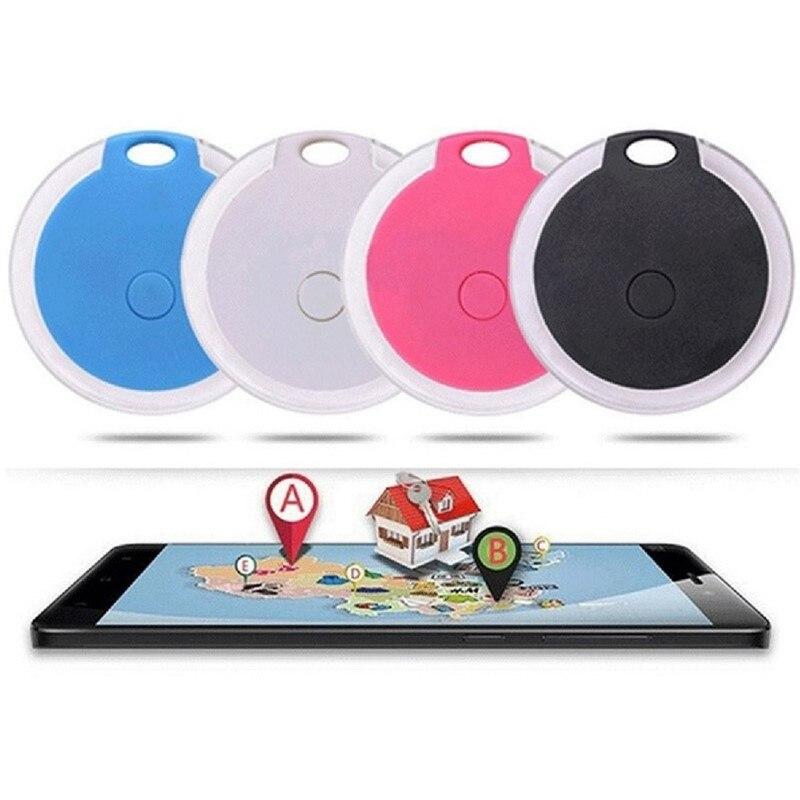 Водонепроницаемый смарт-трекер для домашних животных, GPS-трекер, сигнализация, беспроводной Bluetooth трекер, Детская сумка, кошелек, поиск ключ...