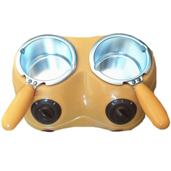Electric Chocolate Candy Melting Pot Electric Melter Machine Diy Kitchen Tool-Yellow Eu Plug