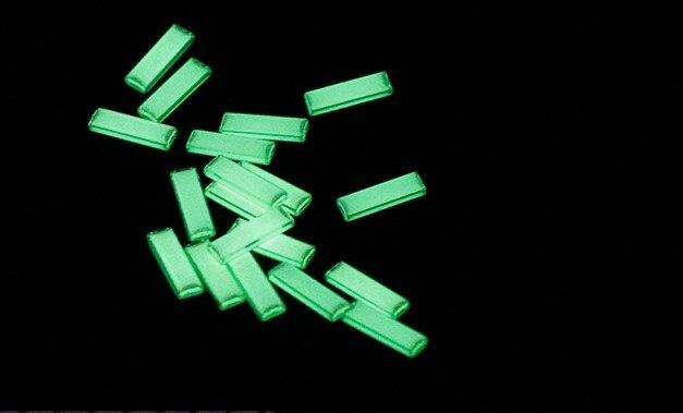 Tour pal retangular auto-iluminante tubo de gás