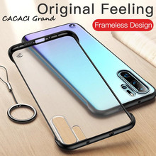 For Huawei Nova 3 Case Transparent Frameless Matte Hard Back Cover 5 Pro Phone Cases Funda for 4 5i coque
