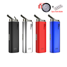 цена на Original Electronic Cigarette Airistech Airis Switch Dry Vaporizer 2200mAh Battery Ceramic Chamber Vape Pen for herb wax
