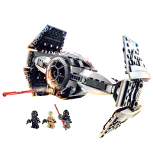 Star Wars TIE Advanced Prototype Inquisitors Top Secret Starship wars Rebels Blocks Toys Gifts Starwars