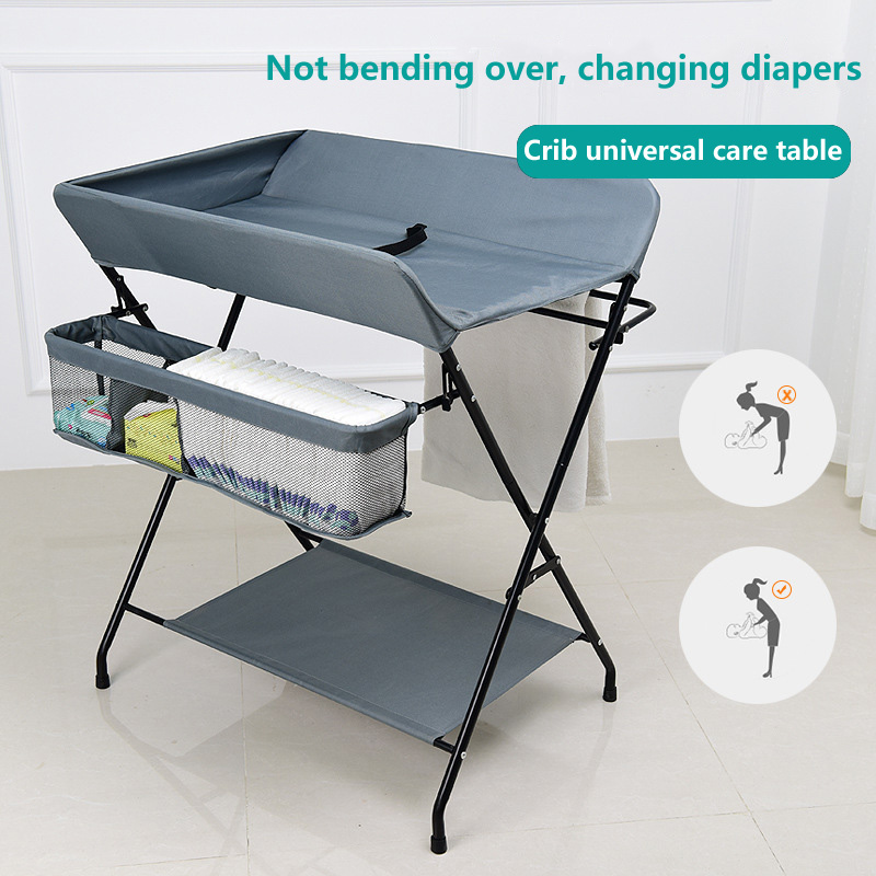 Baby multi-function Diaper table baby care tables newborn massage touch bathing table baby folding changing diaper table