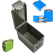 30 Cal Metal Ammo Can Military & Army Style Steel Box Stackable Gun Ammo Case Storage Holder Box Heavy duty Tactical Bullet box(China)