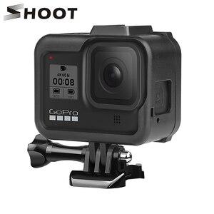 Image 1 - Chụp Bảo Vệ Biên Giới Khung Dành Cho Gopro Hero 8 Đen Bao Nhà Ở Núi Cho Go Pro Hero 8 Đi Pro 8 Camera Hành Động Phụ Kiện