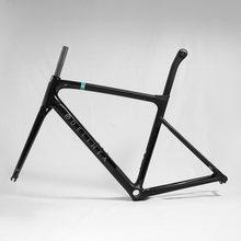 Delihea 2021 resto bob aro/freio a disco nova super leve quadro de disco estrada carbono quadro bsa/bb30 bicicleta xdb/dpd
