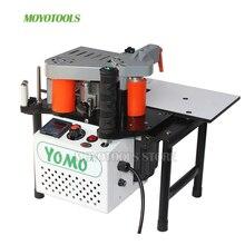Ahşap manuel kenar bantlama makinesi PVC taşınabilir kenar bantlama çift taraflı yapıştırma 110V/220V 1200W ağaç İşleme makineleri MY50