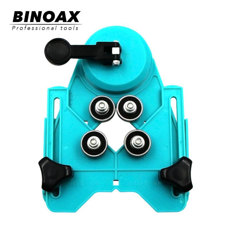 BINOAX Adjustable Masonry Drill Bit Set Ceramic Tile Glass Hole Drill Guide Openings Locator Ceramic Cutter Construction Tools