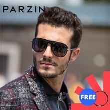 PARZIN Brand Polarized Sunglasses Men Classical Driving Glasses Shield